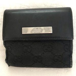 Gucci wallet. Black